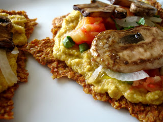 lunch raw vegan recipe hummus pizza 3