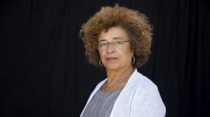 UCLA professor Angela Y. Davis. (Katie Falkenberg / Los Angeles Times)