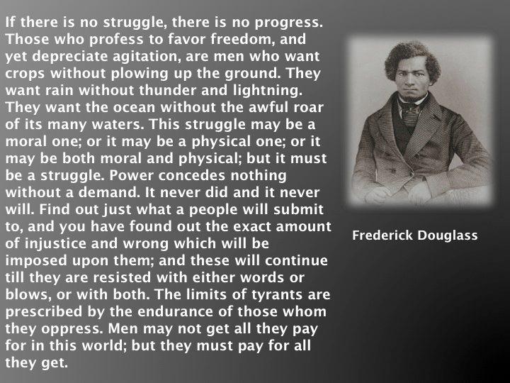 Frederick Douglass Quote Memes