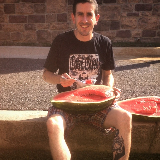 Tom & Watermelon. : )